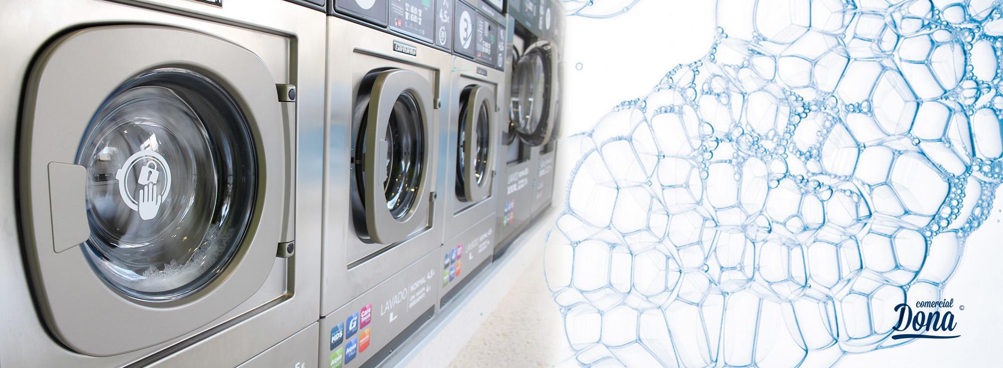 Lavandería con Comercial Dona